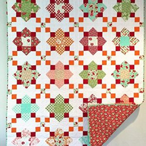Quatrefoil Sorbet Twin/Throw Quilt