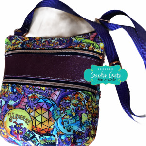 Triple Zip Crossbody - Figment